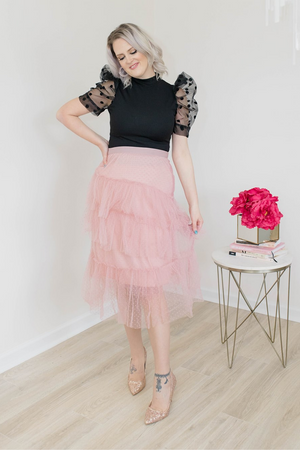 PERFECT ILLUSION SKIRT