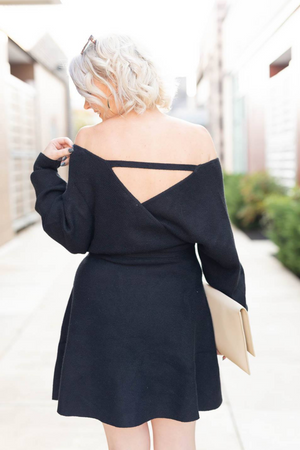 FALL INTO STYLE SWEATER DRESS