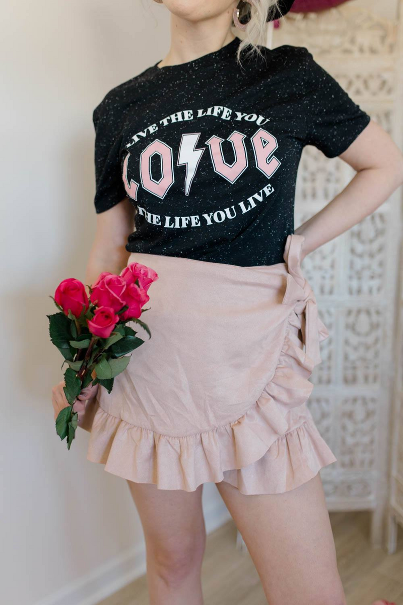 BLUSHING IN STYLE SKIRT