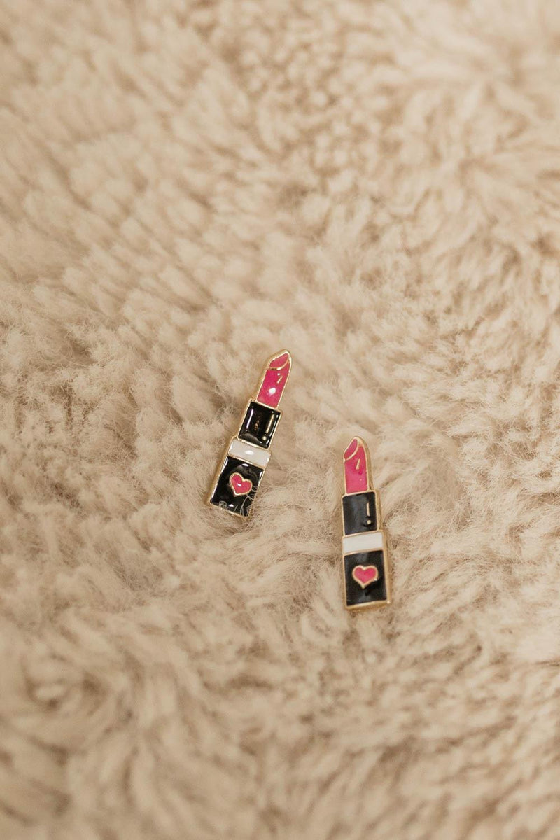 LIPSTICK LIFESTYLE EARRINGS