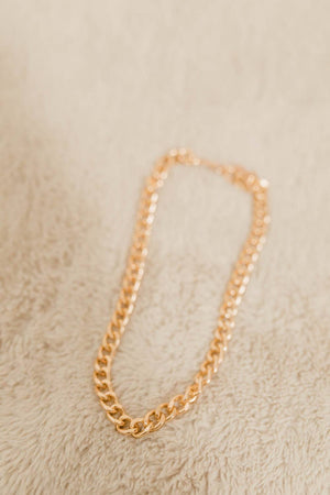 GOLD THANGS NECKLACE