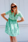 Cakeworthy RUGRATS REPTAR BUTTON UP DRESS