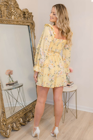 FLORALS AND FUN DRESS