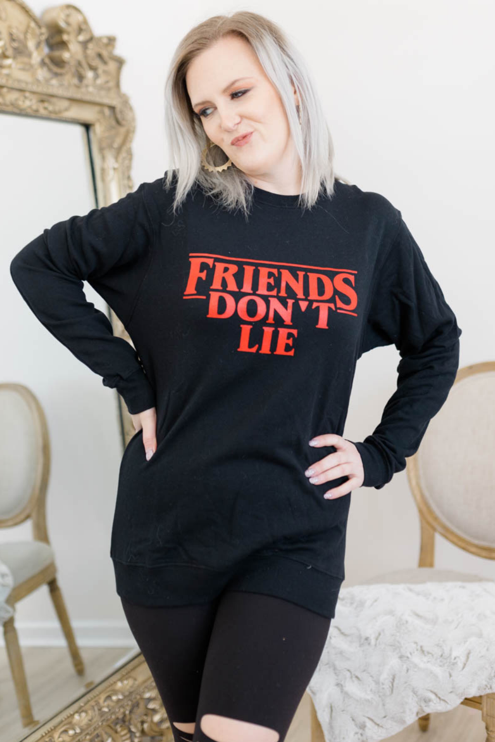 FRIENDS DONT LIE SWEATSHIRT