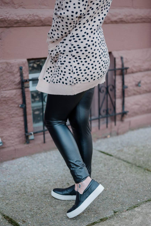 LUXE LEATHER LEGGINGS