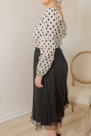 POLKA DOTS MY NEUTRAL TOP