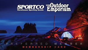 Membership Card Image Of Camping On The Beach