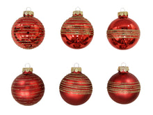 Load image into Gallery viewer, Christmas Balls 24 pcs - Red
