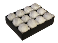 Load image into Gallery viewer, Christmas Balls 24 pcs - Arctic White