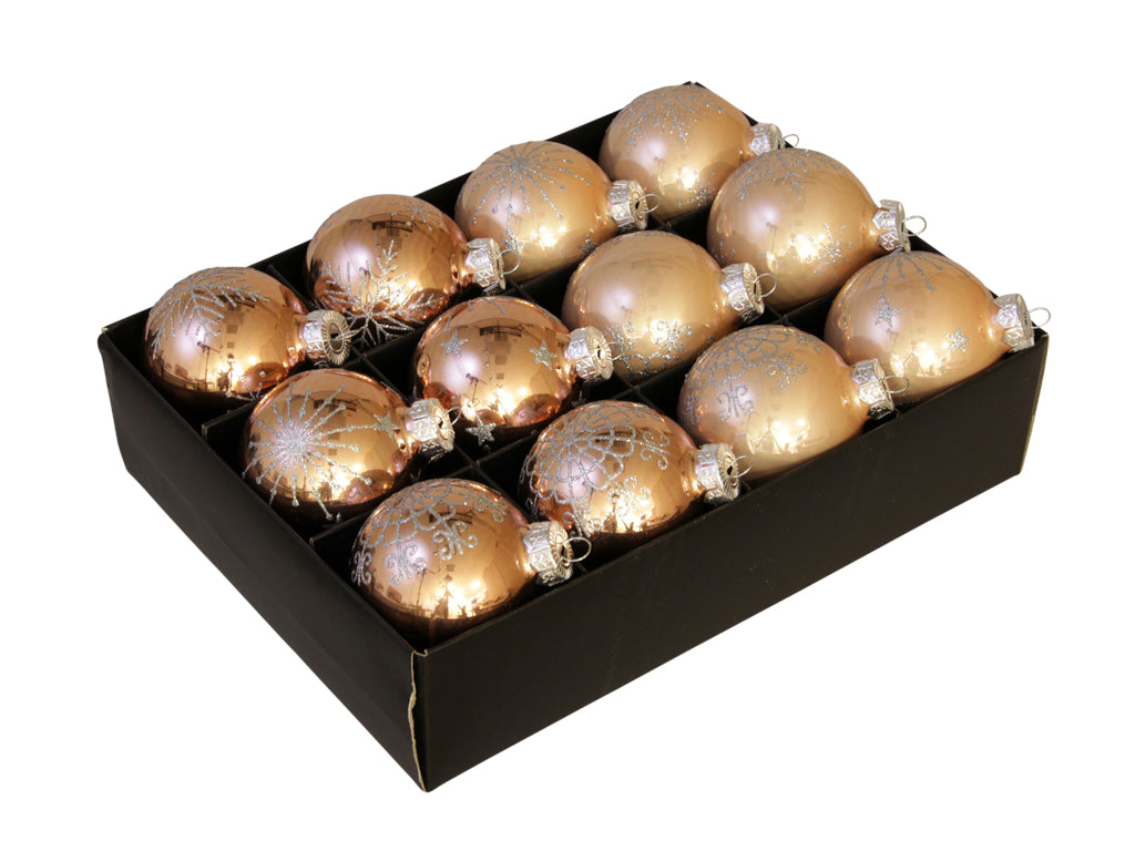 Christmas Balls 24 pcs - Harvest