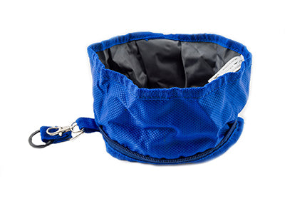 2PET® Foldable Bowl for Dogs by Lightweight Waterproof Compact and Collapsible