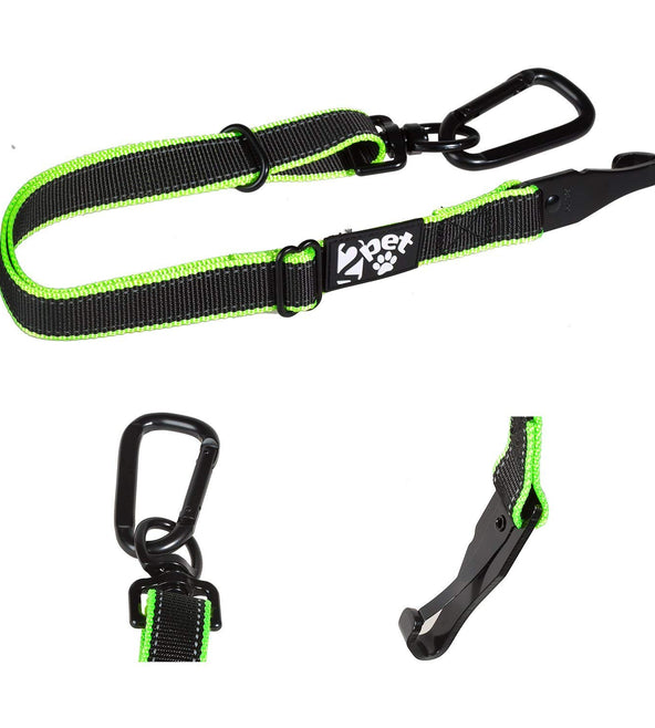 2PET® Dog Seatbelt Strap Adjustable Dog Seat Belt for All Breeds