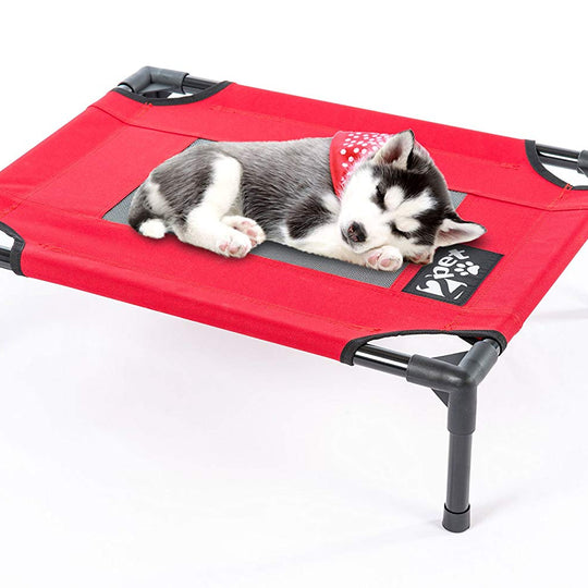 2PET® Elevated Cooling Pet Bed with Mesh
