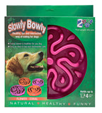 2PET® Slow Feed Dog Bowl Slowly Bowly (Large)