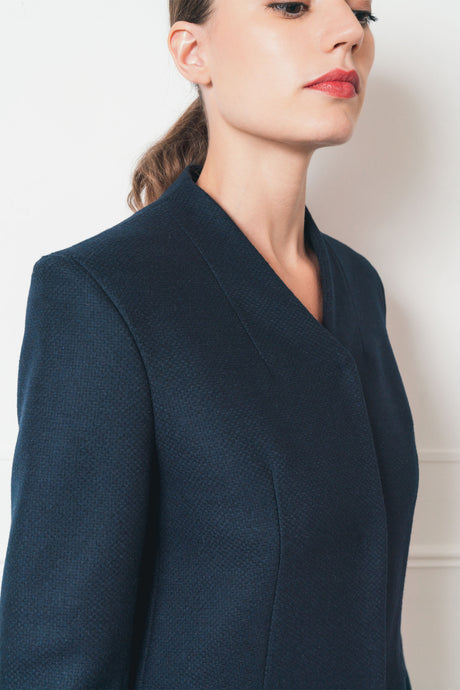 Manteau, mode , éthique , mode éthique, vêtement, femme ,sustainable , ethical , ethical fashion , responsible sourcing , mode respectueuse , made in France , fabrique en France, made paris , fabrique a paris , local , mode local , acheter local , buy local , brand , fashion , style , classic , elegant , women , mode feminine, , french brand , french designer , prêt a porter, ready to wear , parisienne , blouse