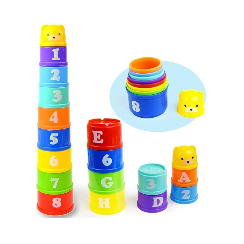 modelo-stores Baby Toys Stacking Cups Towers