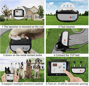 Freshly Suds Invisible Dog Fence - Wireless Dog Fence With Collar