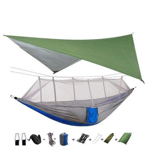 insect proof soft and safe portable hammock tent