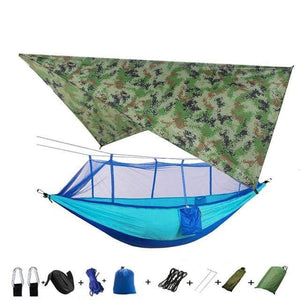 Best Selling Portable Outdoor Camping Hammock Tent With Waterproof Mosquito Net