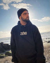 Load image into Gallery viewer, UNISEX RELAXED FIT HOODIE - BLACK - Zero Clothing UK