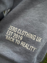 Load image into Gallery viewer, UNISEX RELAXED FIT HOODIE - GREY - Zero Clothing UK