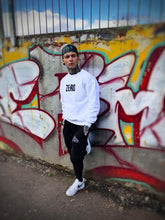 Load image into Gallery viewer, OVERSIZED SWEATSHIRT - WHITE - Zero Clothing UK