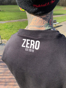 OVERSIZED SWEATSHIRT- BLACK - Zero Clothing UK