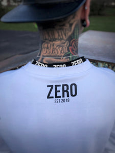OVERSIZED SWEATSHIRT - WHITE - Zero Clothing UK