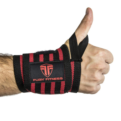 Wrist Wrap with Thumb Loops