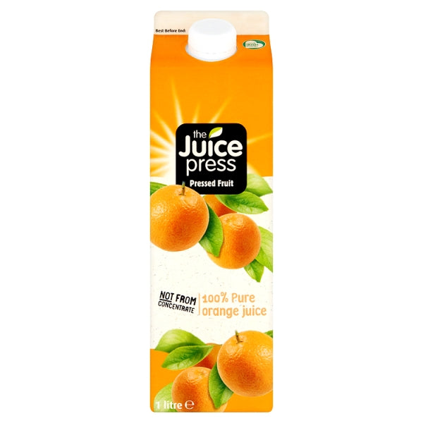 The Juice Press - not from concentrate pure orange juice – 1 litre