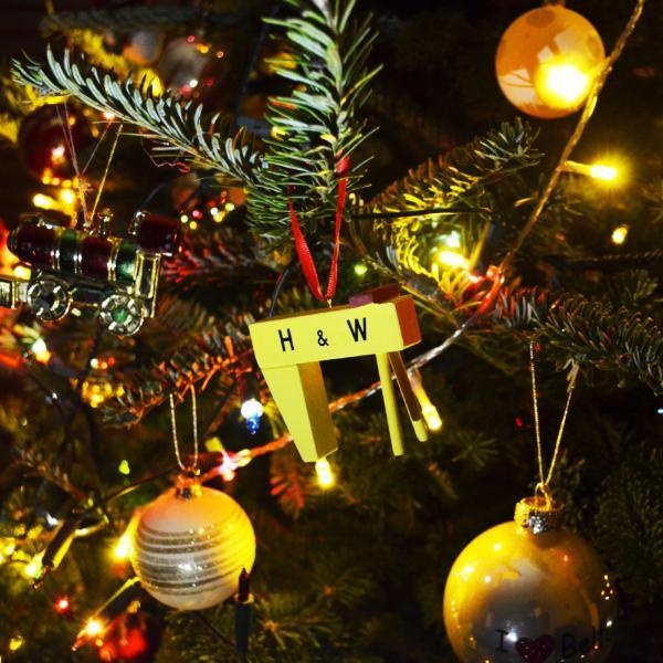 Cowfield Design - H&W Christmas tree decoration