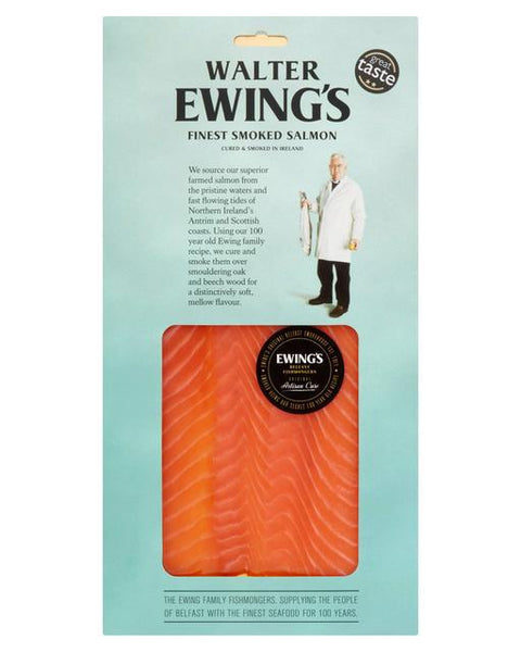 Ewing's Irish Organic Smoked Salmon 200g