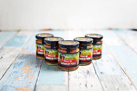 Carolyn Stewart's Totally Hot NI – Caribbean pickle