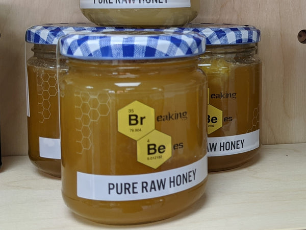 Local honey – with honeycomb