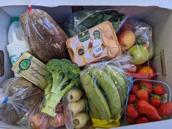 Two Sisters family fruit & veg box
