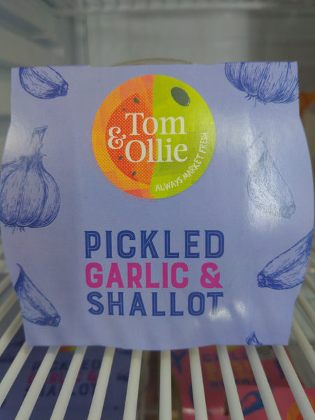 Tom & Ollie's Pickled Garlic & Shallots