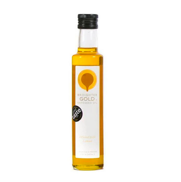 Broighter Gold rapeseed oil – infused with lemon