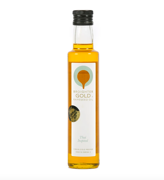 Broighter Gold rapeseed oil – infused with thai