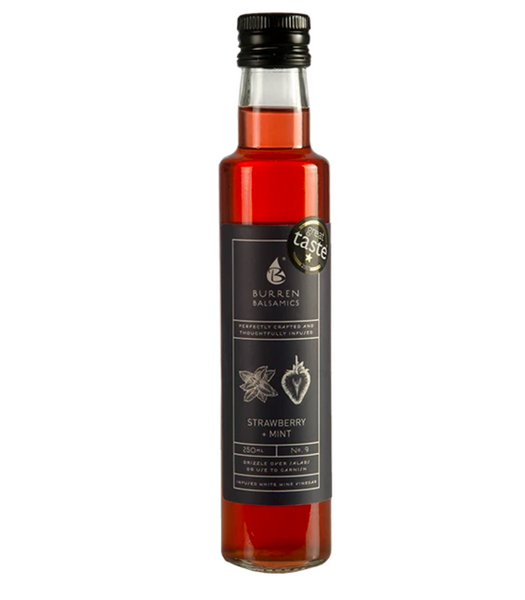 Burren Balsamics – Strawberry & Mint (100ml)