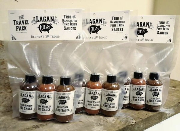 Lagan Ribs sauces trio pack