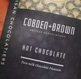 Cobden & Brown hot chocolate