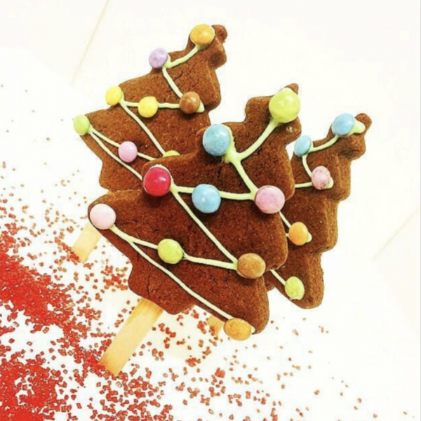 Yellow Door Bakery Gingerbread Christmas Trees