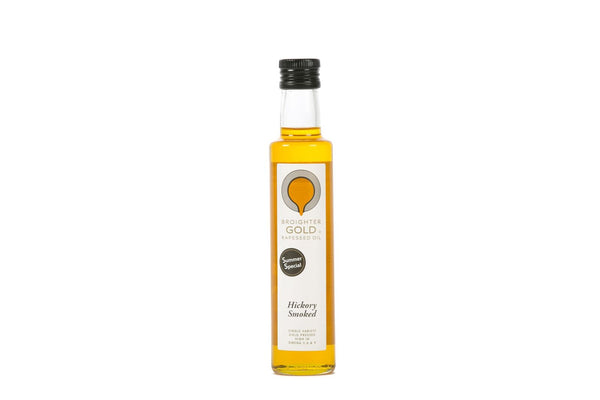 Broighter Gold rapeseed oil – hickory smoked