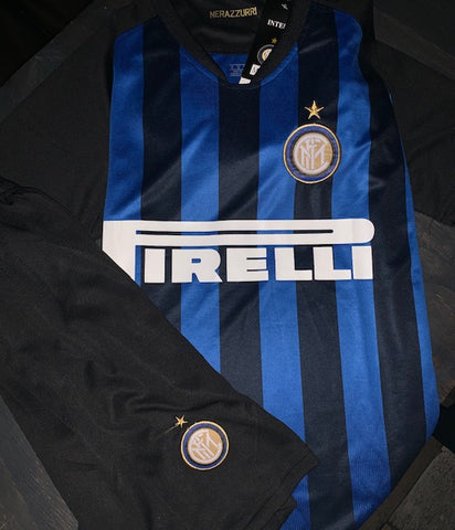 AC Milian Jersey Set Black & Blue