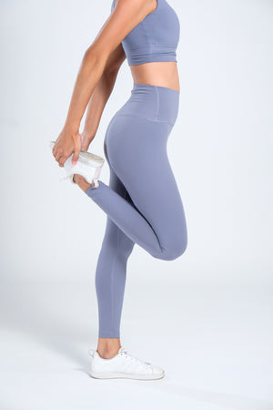 Buttercream Leggings - Stone Blue
