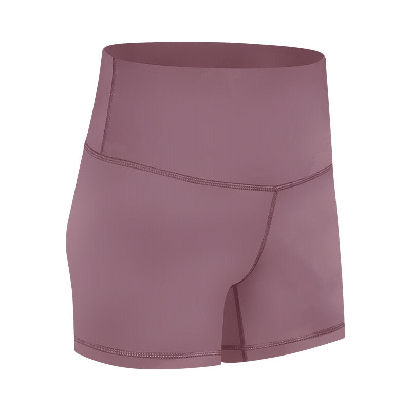 Booty Shorts - Mauve Pink