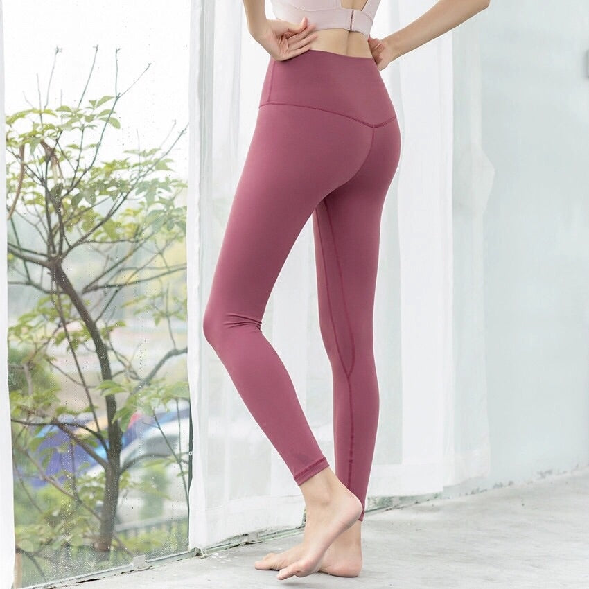 Buttery Leggings - Rouge Pink