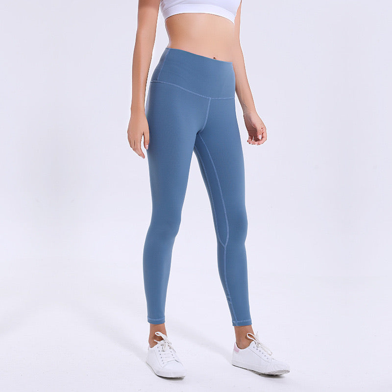 Buttery Leggings - Steel Blue