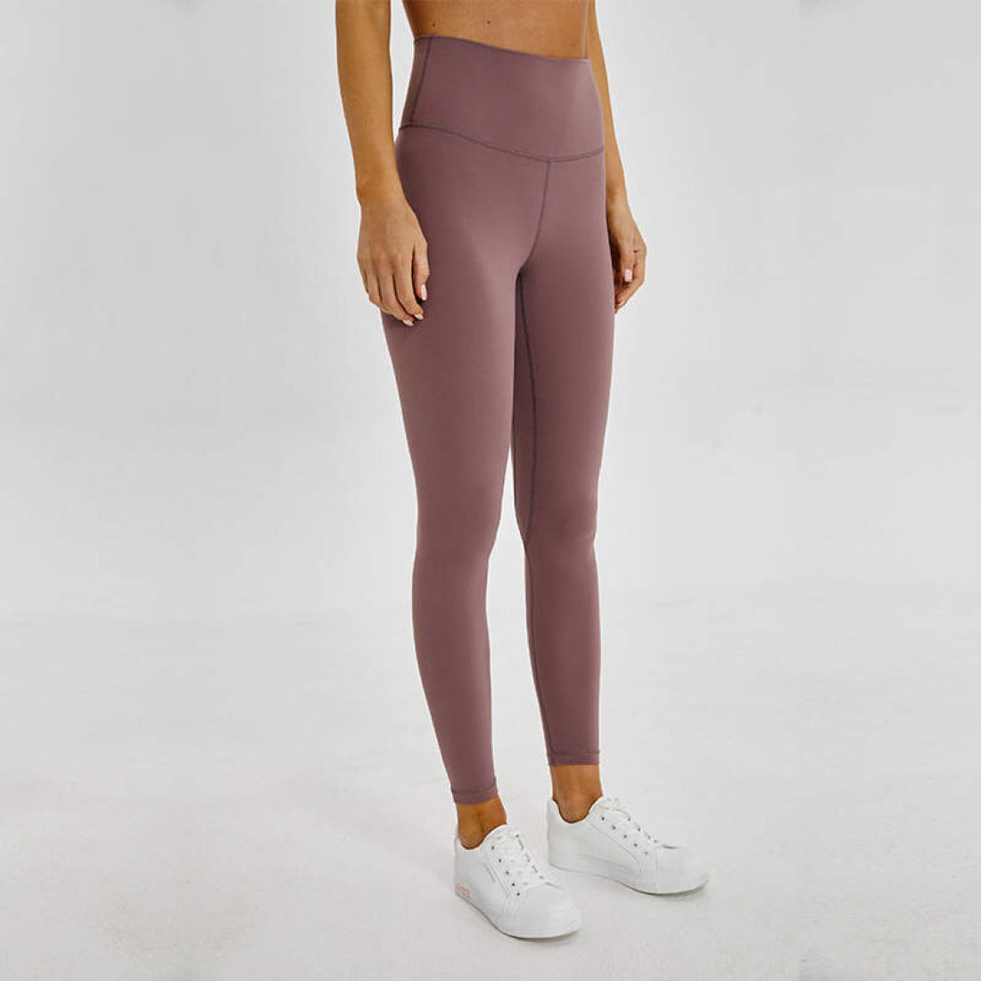 Buttery Leggings - Lilac Grey