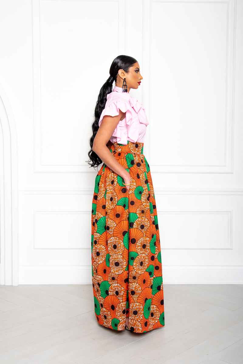 Neka Maxi Skirt - Multi